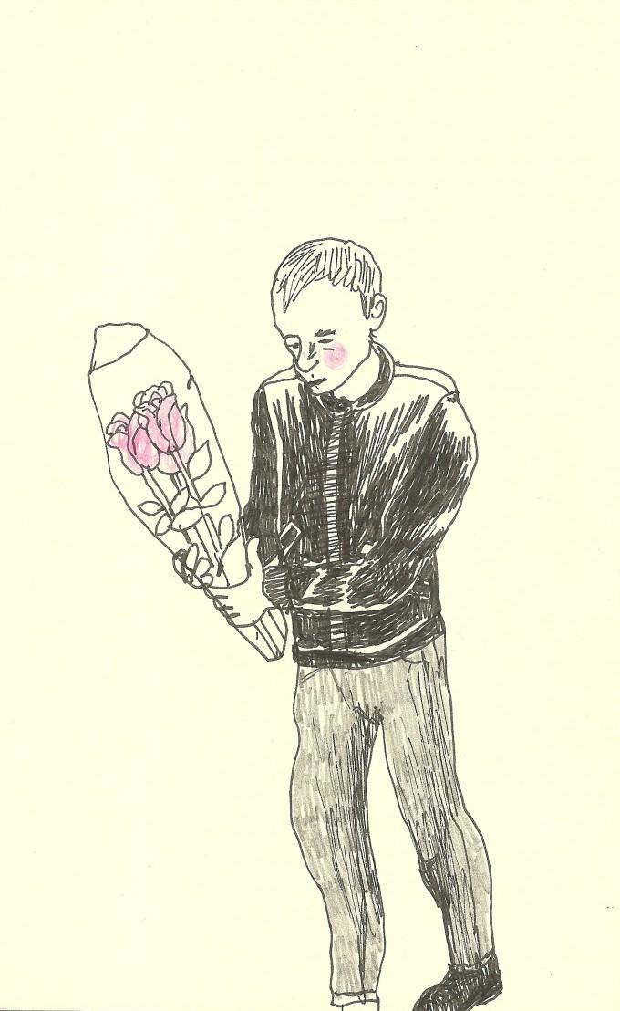 teckning från Odessa
